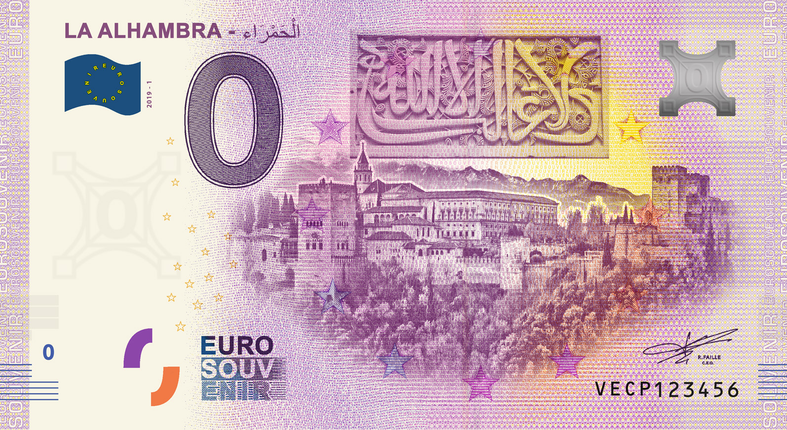 """BILLETES """"O"""" (ZERO) EUROS.................(en general) - Página 16 Vecp"""